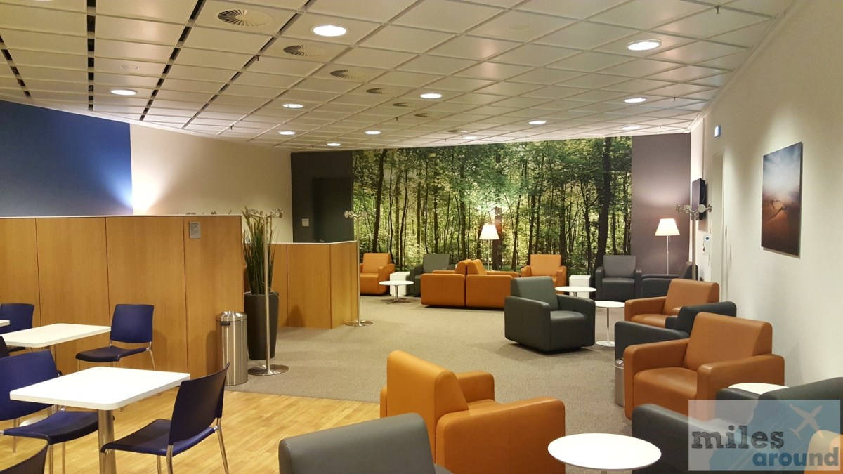 Lufthansa Business Lounge at Leipzig/Halle Airport